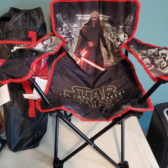 NWT Star Wars Kylo Ren kids folding camping chair